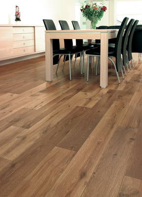laminate floor may be a better option over solid wood flooring