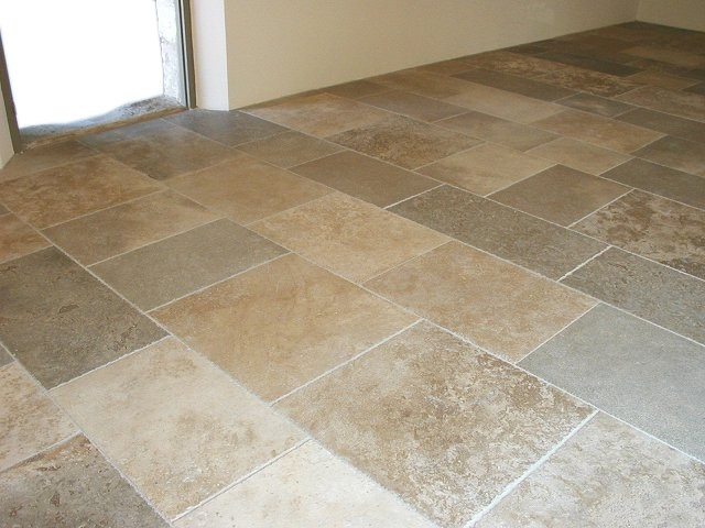 Kitchen Floor M... Natural Stone Floors Kitchen